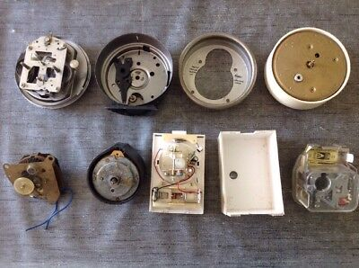 Antique Clock Parts Movements From Clockmakers Spare Parts Collection