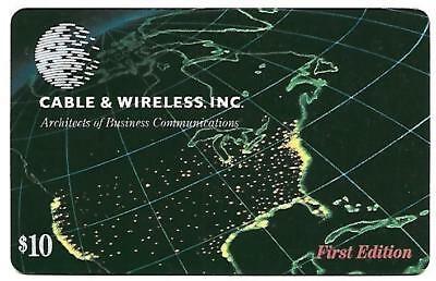 Cable & Wireless United States First Edition Mint Phonecard