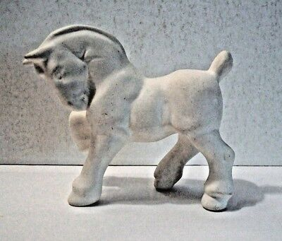 """Ceramic Horse Ready To Paint 3 1/2"""" High 4"""" Long"""