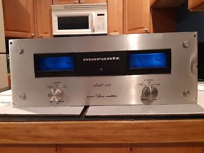 Marantz Model 250 Vintage Amplifier for parts or repair