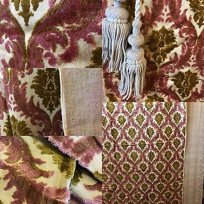 """Beautiful Tapestry Brocade Woven Upholstery French fabric Panel 50""""/72"""""""