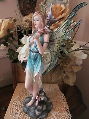 Fairyland Legends  Fairy with baby dragons Figurine by Pacific Giftware NEW