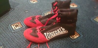 Lonsdale  Boxing Boots Size 11