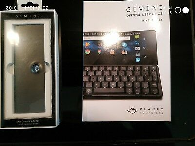 Planet Computers Gemini PDA 5MP Camera & 237 page Official User Guide!!