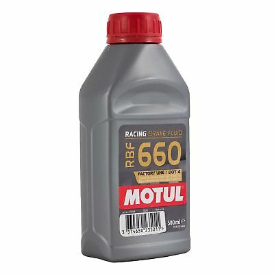 Motul RBF660 Racing Motorsport High Performance Dot 4 Brake Fluid 500ml inc VAT