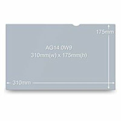 3M AG14.0W9 Standard Anti-Glare Screen Filter - Notebook - Frameless - 16:9 - Wi