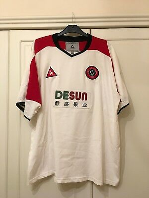 "Sheffield United 2002-2004 Away Football Shirt Size 42""-44"" /21065"