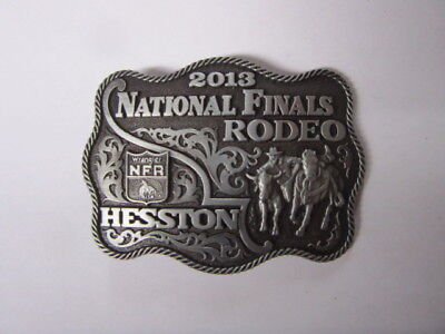 2013 Hesston National Finals Rodeo Youth Belt Buckle