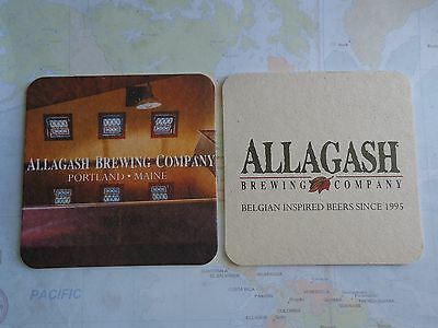 Beer Collectible Coaster ~ ALLAGASH Brewing Co ~ ~ Portland, MAINE Since 1995