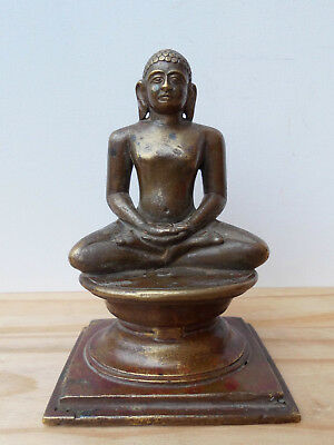 Rare Antique bronze Jain Naked Buddha India