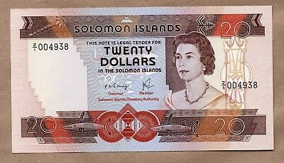 Solomon Islands - 20 Dollars - Nd1981 - P8 - Replacement Z/1  - Uncirculated