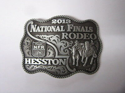 2013 Hesston National Finals Rodeo Adult Belt Buckle