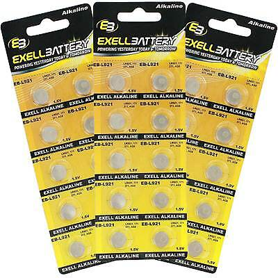 3x 10pk Alkaline 1.5V Watch Battery Replaces AG6 CX69 S21 S21 FAST USA SHIP