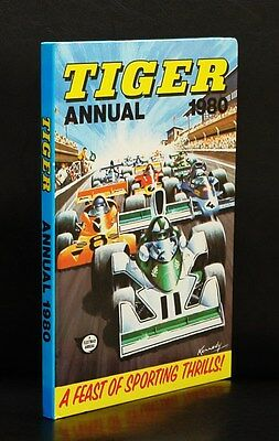 Tiger Annual 1980 A Feast Of Sporting Thrills! Ipc Magazines Ltd