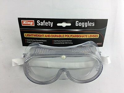 Safety Goggles Over Glasses Clear Lens  Eye Protection Eye Wear