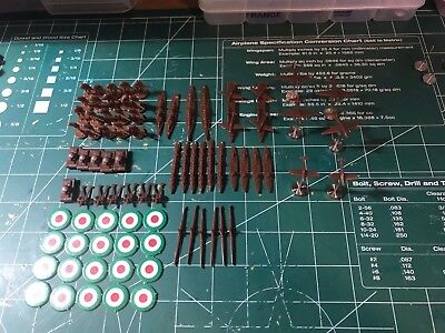 Axis & Allies Anniversary Pieces   Planes & Carrier Magnetized Italian Force