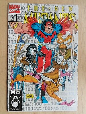 NEW MUTANTS #100 (1st Series) - 1st Appearance of X-FORCE ~ RARE 3rd PRINT