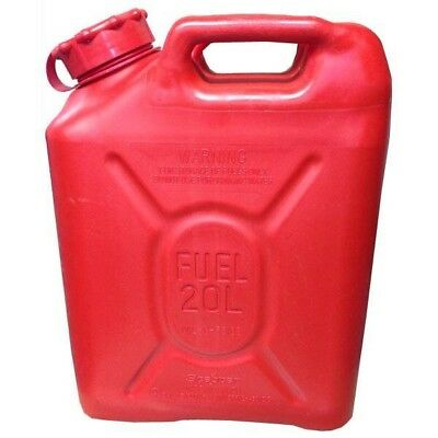 *RED* SCEPTER MFC military mil spec MIL-C 53109 fuel can 20L 5gallon