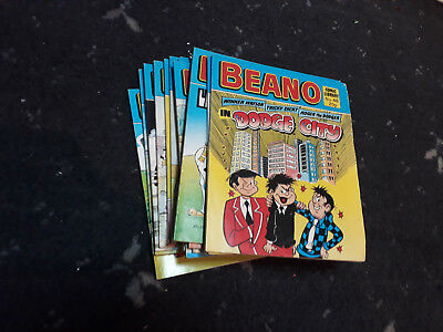 Beano Comic Library Job Lot Issues 32 to 46 FREE POSTAGE