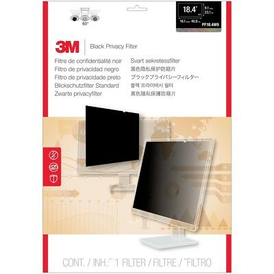 3M PF18.4W9 Privacy Filter for Widescreen Desktop LCD Monitor - 18.4-inch