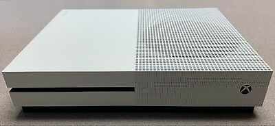 Microsoft Xbox One S White Gaming Console Only - 1TB - Amazing Condition