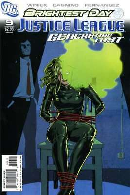 Justice League: Generation Lost #9 in Near Mint + condition. DC comics [*mx]