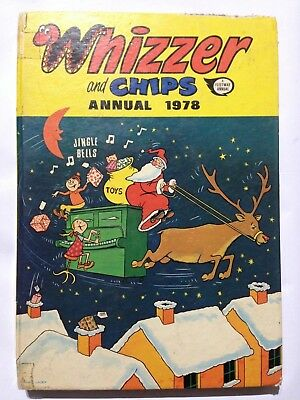 THE WHIZZER & CHIPS. 1978 Annual Fair Condition **Free UK Postage**