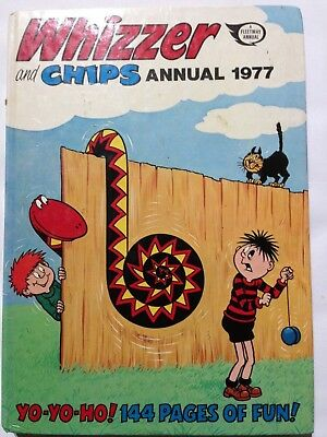 THE WHIZZER & CHIPS. 1977 Annual Good Condition **Free UK Postage**