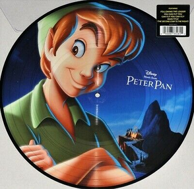 Various ‎Disney Music from Peter Pan 180gm vinyl picture disc NEW/SEALED