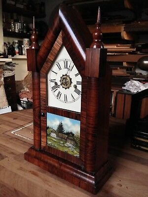 Antique American Mantel Clock
