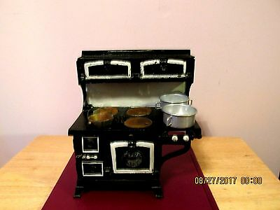 Vintage Cast Iron Blue Bird Salesman's Sample Stove