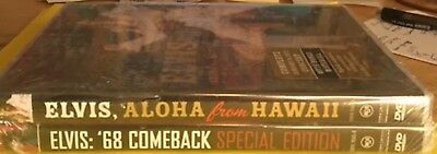 VERY RARE & OOP-ELVIS ALOHA from HAWAII SPECIAL EDITION & '68 Comeback DVD 2006