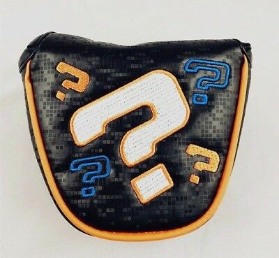 Limited! Funky Odyssey Question Mark Magnetic Mallet Putter Cover Headcover