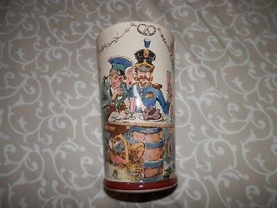 Antique German Villeroy & Boch Mettlach Beer Cup Stein Mug - 2368