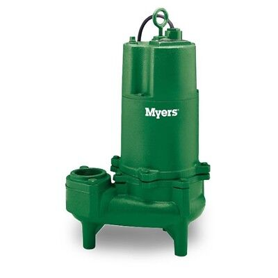 WHR7-43 Myers 3/4HP 3Ø/460V Submersible Sewage Pump 20' Cord 21646D002