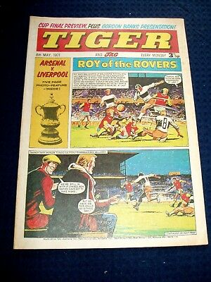LIVERPOOL v ARSENAL  F.A. CUP FINAL  5 PAGE PHOTO SPECIAL IN TIGER AND JAG 1971
