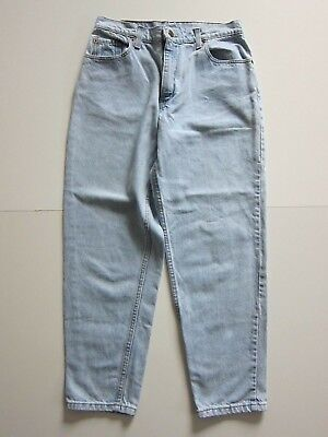 75e7495b72 Vintage Levi's 551 Made In USA 100% Cotton Light Wash High Rise Mom Jean  30X28