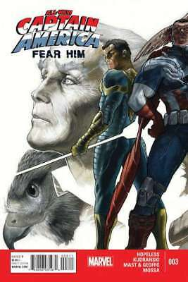All-New Captain America: Fear Him #4 in Near Mint condition. Marvel comics [*ag]