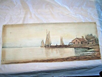 Antique Watercolor Painting Looks Quality By?