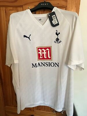 Tottenham Hotspur Football Club 125 Years Anniversary Home Shirt 2007 / 2008 3Xl