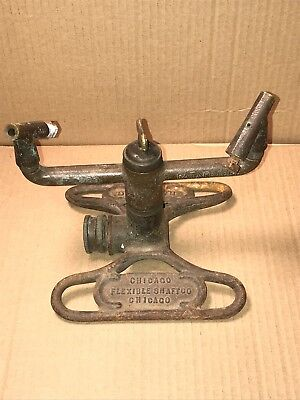 Vintage RAIN KING Lawn SPRINKLER Model P 2000 Chicago Flexible Shaft Co