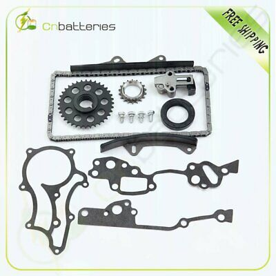 New For 85-95 Toyota Pickup 4Runner 2.4L Timing Chain Kit 22R 22RE 22REC Engine