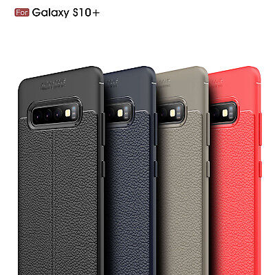 Ultra Thin PU Leather Soft TPU Shockproof Case For Samsung Galaxy S10/Plus/S10e