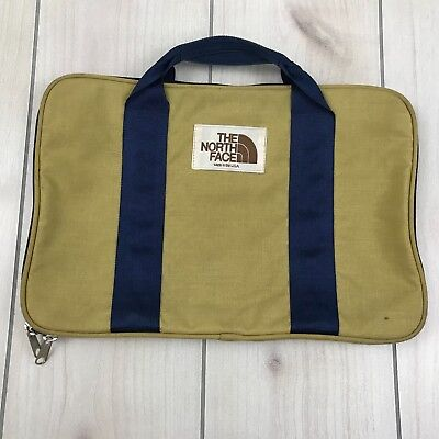 Vintage The North Face USA Made Travel Laptop Notebook Portfolio Bag Hand Carry