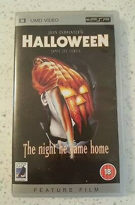 Halloween Umd Video For Sony Psp * Ultra Rare * Boxed Complete * Pal Region 2