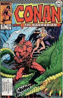 Conan the Barbarian (1970 series) #154 in VF + condition. Marvel comics [*6q]