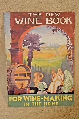 Vintage 'The New Wine Book' – 1934