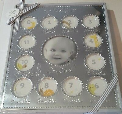 """NEW Carter's My First Year """"I'm One!"""" 13 Photo Picture Frame"""
