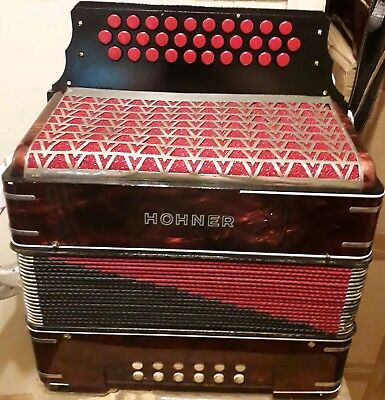 Hohner Pre Corona Nice Accordion Tuned In GCF