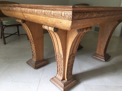 """Antique Dining Room Table - 42""""x 54"""""""